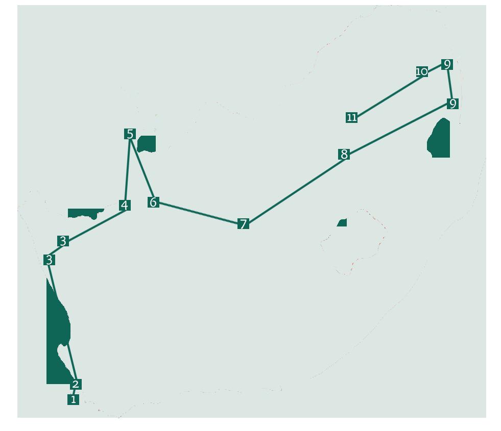 südafrika mietwagen rundreise route