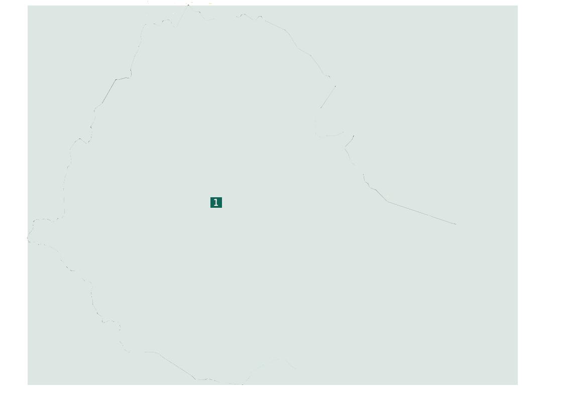 äthiopien rundreise route backpacking