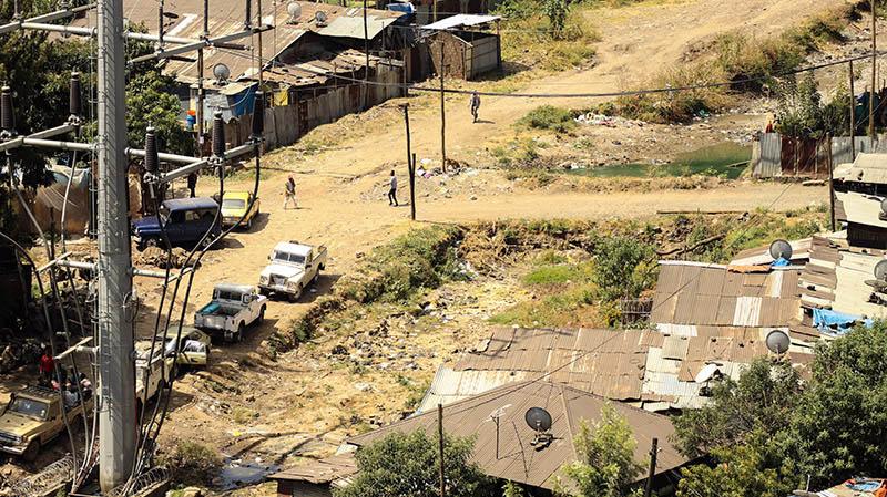slums in addis abeba