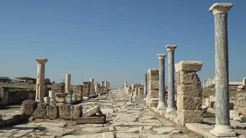Die antike Stadt Laodikeia am Lykos