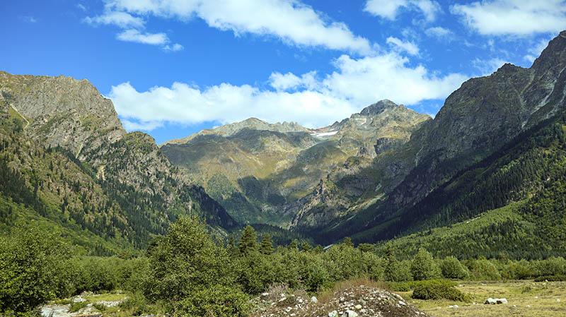 kaukasus mazeri georgien wandern