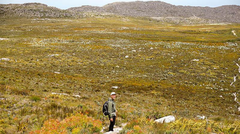 kalk bay peak wandern route