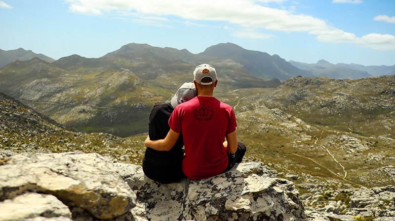wandern in muizenberg kalk bay peak