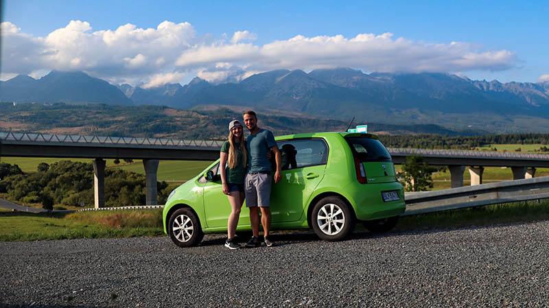 mietwagen rundreise slowakei route