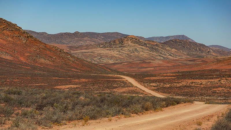 namaqualand landschaft südafrika