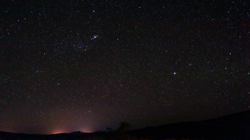 sternenhimmel südafrika namaqualand
