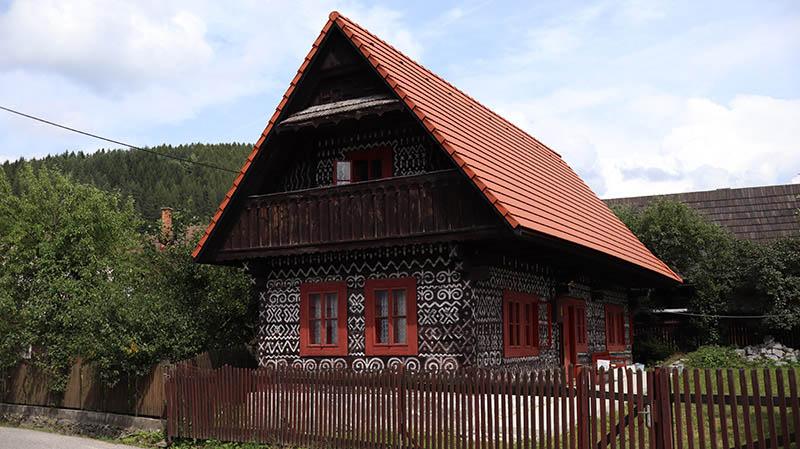 haus in cicmany slowakei