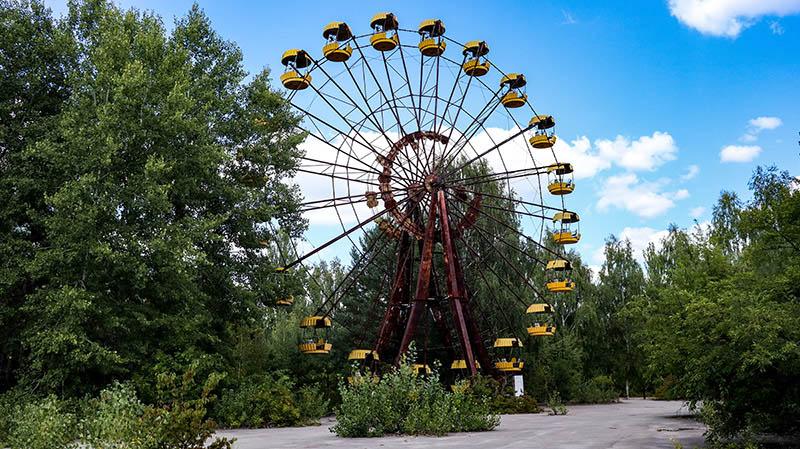 riesenrad tschernobyl prypjat tour