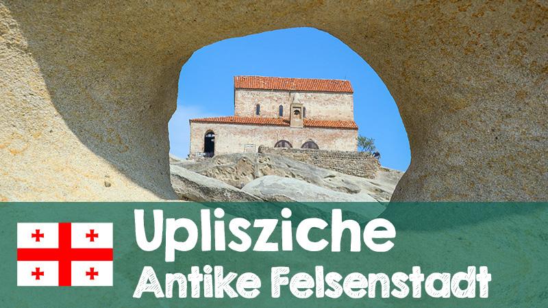 antike felsenstadt in georgien youtube video
