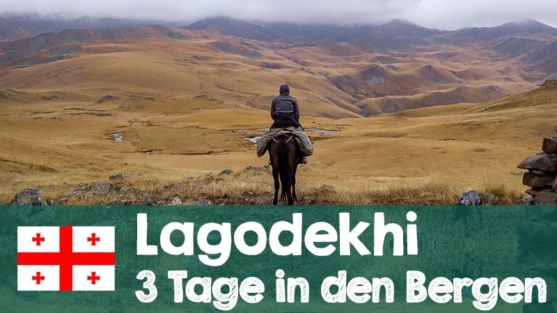 drei tages tour lagodekhi nationalpark video youtube